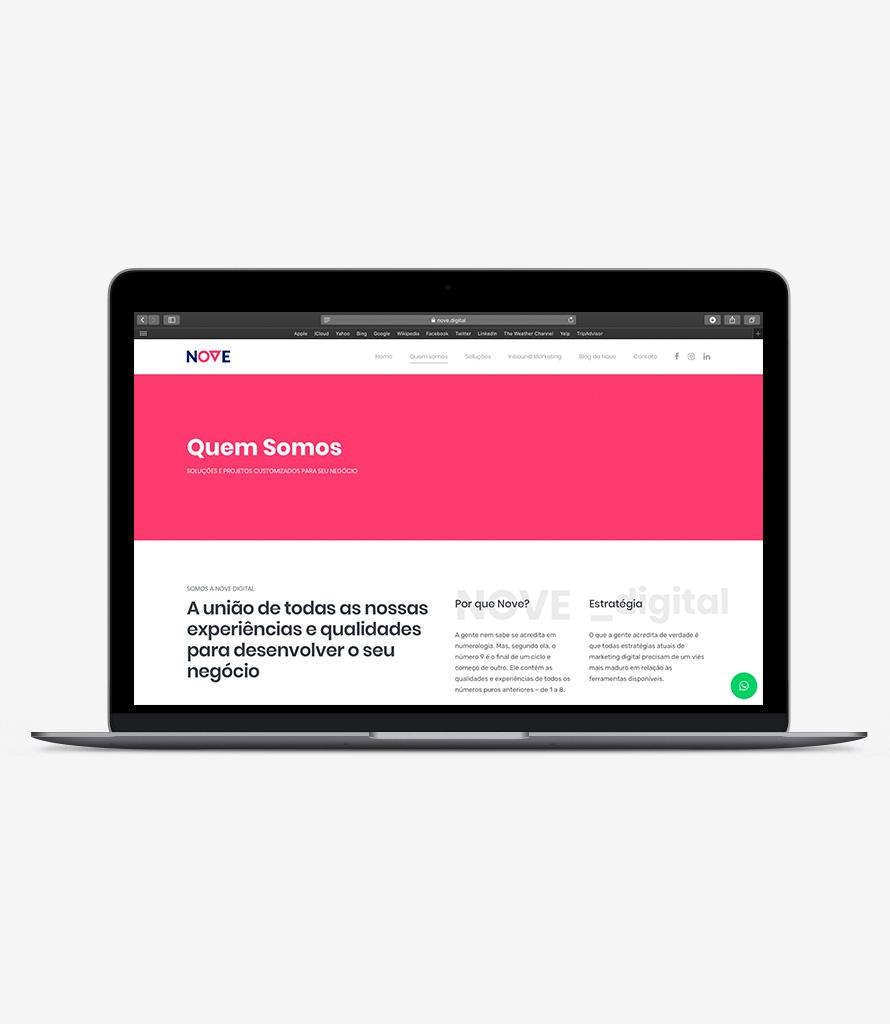 agência nove digital branding