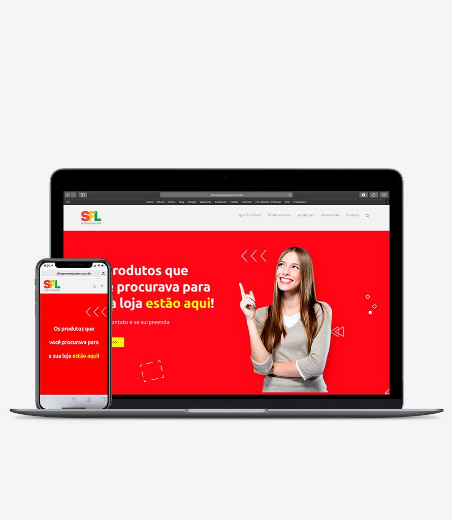 Agência Nove Digital Branding SFL Representações